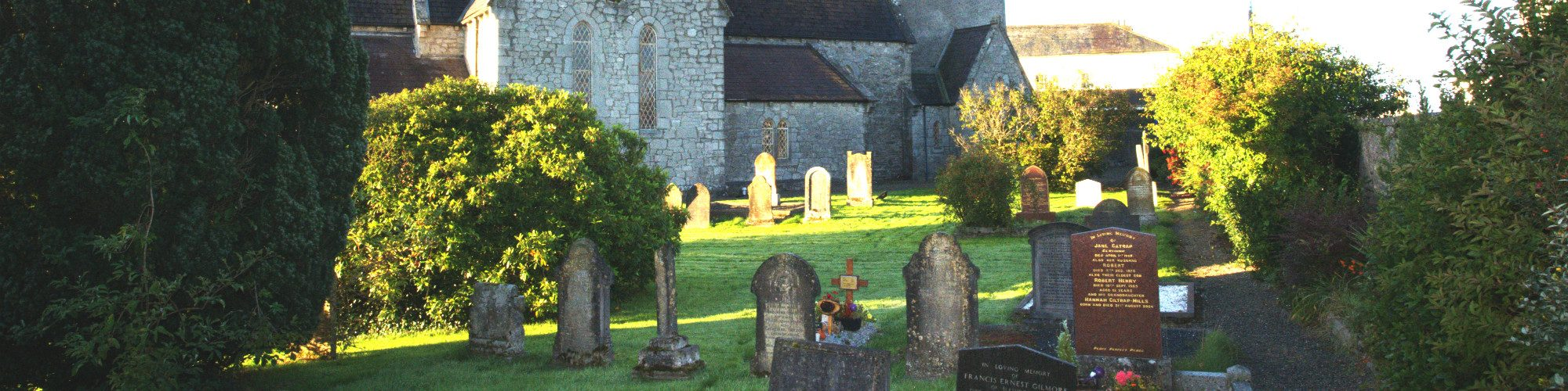 St Marys Churchyard on the Blessington Village Heritage Trail